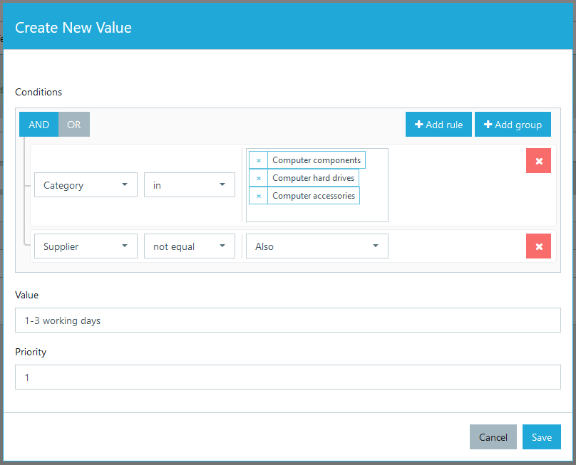 Creating dynamic attribute value
