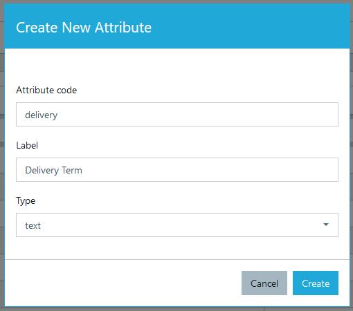 Add new dynamic attribute