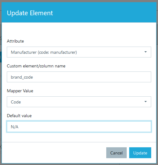 Adding elements in export profile #2