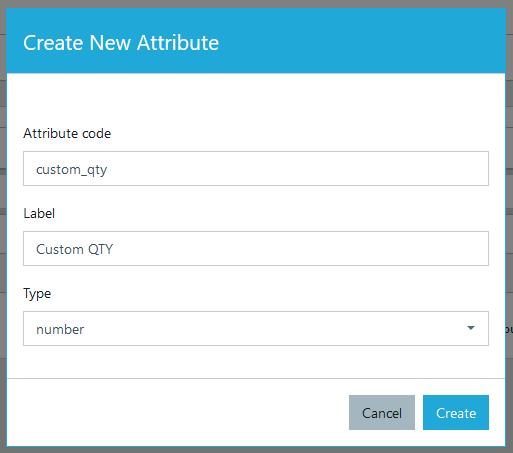 Create new dynamic attribute